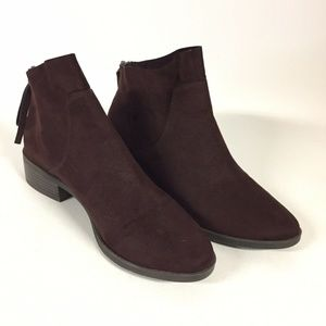 American Eagle Dark Brown Ankle Boots Womens 8